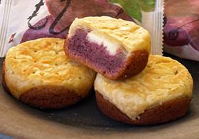 紅いもケーキおもろ
